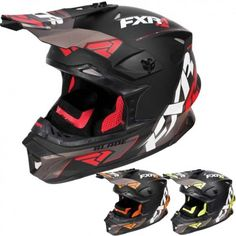 FXR Blade Vertical Mens Sled Winter Sports Snowmobile Helmets