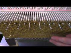 Å strikke fangmønster på LK150 / Tuck stitch on LK150