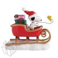 Department 56 - Peanuts - Snoopy Sleigh Figurine
