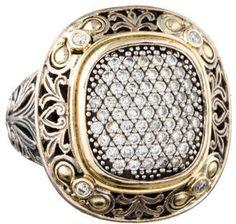 Konstantino Pavé #Diamond Ring -STUNNING