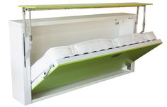 Fold Up Wall Bed: A Larger Room Maker | HomesFeed
