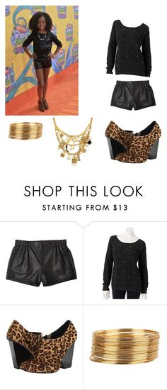 """""""skai jackson inspired outfit /kca"""" by ardesigns ❤ liked on Polyvore featuring Thakoon Addition, Apt. 9, Vogue, Kate Spade, women's clothing, women, female, woman, misses and juniors"""