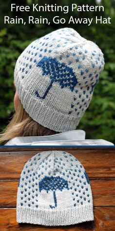 Free Knitting, Fair Isle Knitting Patterns, Kids Patterns, Knit Picks, Crochet Yarn, Knitting Projects, Slouchy Hat, Garter Stitch, Rain Go Away