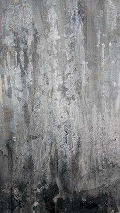 Original Abstract Painting Modern Minimalist Gray Canvas Wall