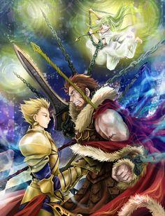 Fate/Zero Gilgamesh Enkidu Iskandar