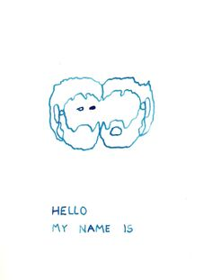 Galería Javier Silva. Theo Firmo. Hello my name is. 2013.