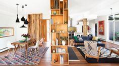IO-Landscape-living room dining modern