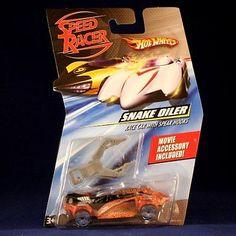 Speed Racer 19244: Snake Oiler Race Car With Spear Hooks Hot Wheels Speed Racer 1:64 Scale Movie -> BUY IT NOW ONLY: $42.36 on eBay!