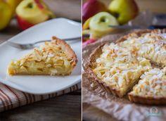 Apfel-Mascarpone-Tarte mit Mandeln #ichbacksmir #tarte