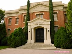 Rosewood City Hall Pretty Little Liars Warner Bros. Sets (29 of 52)!!! I wanna visit here soon bad...whelp its on my bucket list!!!