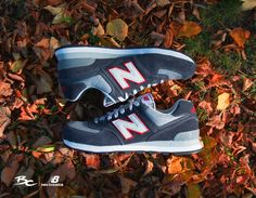 *NEW* NEW BALANCE ML 574 VEC Navy Grey Red  SIZE:41,5-46,5  PRICE:99,99€