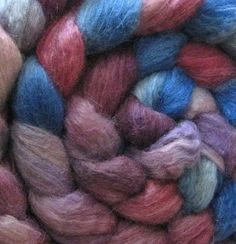 950grams Wool top 29.0 micron roving spinning felting