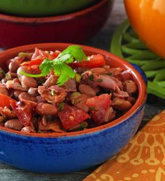 Mexican Charro Beans #Recipe - Get a taste of this spicy traditional recipe from the Taste of México Sweepstakes.