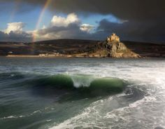 ❥ St. Michaels Mount, Cornwall