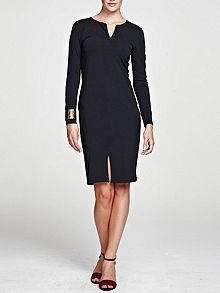 Coast goddess short dress black