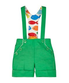Little Bird by Jools Ponte Shorts with Braces 9mths -8 years