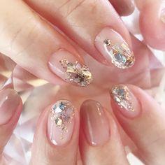Customers nail 💅 # Toyohashi # Toyokawa # Kosai # Hamamatsu # Toyohashi nail salon # Toyohashi home salon # Toyohashi nail salon joliejolie # nail # Nail Design # nuance # gradient Asian Nail Art, Asian Nails, Korean Nail Art, Beige Nails, Red Nails, Pastel Nails, Beige Nail Art, Glitter Nail Art, Toe Nail Art