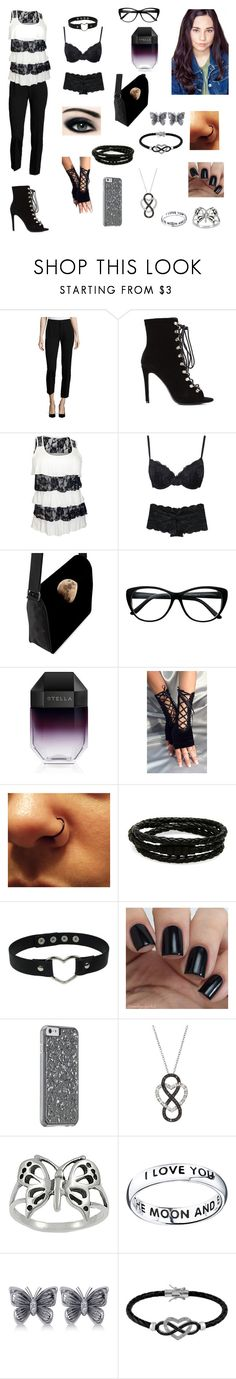 """""""Andrea Anderson-Love, Love, Love-Glee OC"""" by silverbellatrix ❤ liked on Polyvore featuring Foundrae, Marie Meili, STELLA McCARTNEY, Porsche Design, Journee Collection, Footnotes, Allurez and Jewel Exclusive"""
