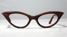 Vintage Cat Eye Eyeglasses.