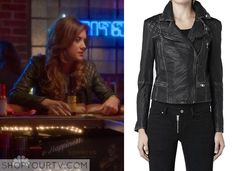 Bad Judge: Season 1 Episode 10 Rebecca's Black Leather Jacket