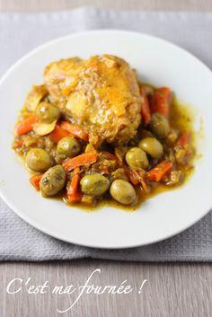 C'est ma fournée ! Le poulet aux olives. Hummm j'ai testé ça avec les parents ...c'est un délice !