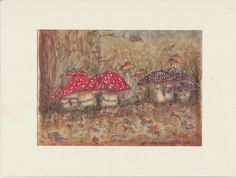 Cani in Cornice: Mushrooms in the forest
