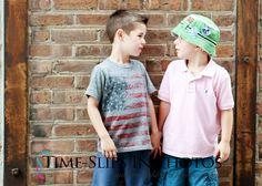 Time-Slips In Photos ~ Children's Photography Best_Friends urban location Chicago