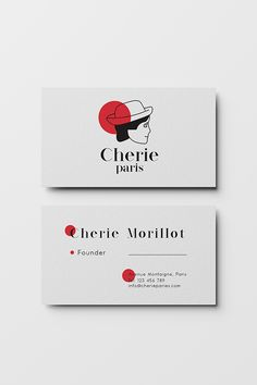 Business Card and Stationery Design from Cherie Paris Branding design and Graphic design project concept by Zeka Design, if you want to see the full project check the link ! Business Cards Online, Business Cards Layout, Elegant Business Cards, Cool Business Cards, Business Card Logo, Stationery Business, Creative Business, Stationery Design, Branding Design