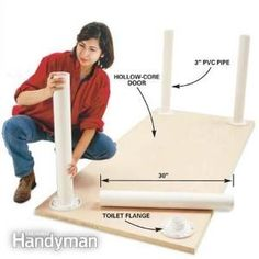 PVC Pipe Table Legs ... by bette