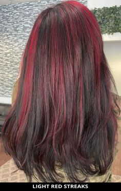 15 Best Black Hair with Red Highlights for a Super-Flattering New Style