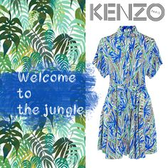 Welcome to the jungle #KENZO