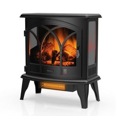 Electric Logs, Electric Stove, Porch Heater, Vintage Fireplace, Freestanding Fireplace, Infrared Heater, Real Fire, Stove Fireplace, Electric Fireplace