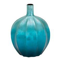 Caddington Ceramic Vase >> Such a beautiful color!