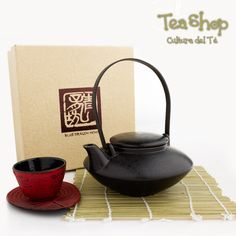 Tea shop Una forma no tan clásica de disfrutar un buen te. Juego d  te en cerámica, tetera y plato en hierro forjado colección libélula.