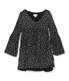 5bd9655d Denim and Supply Ralph Lauren Womens Hayden VNeck Casual Dress Black XS ***  Check