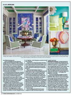 Parker Kennedy Living  Home Accents Today magazine