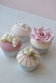 Elegant Cupcakes | Simply lovely...