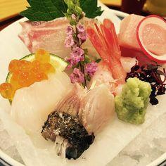 #kaiseki #sashimi #osaka #triptojapan #여행#사시미#일본 가이세키요리 사시미 입에 녹는다 녹아ㅋ by shinjiyeoun_alice