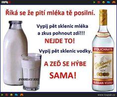 Mléko tě NEPOSILNÍ