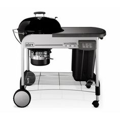 Weber Performer Charcoal Grill in Black with Touch-N-Go Gas Ignition