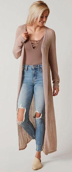 Daytrip Flyaway Cardigan - Women's Sweaters in Ethera Boho Womens Clothing, Bohemian Style Clothing, Plus Size Womens Clothing, Grey Coats For Women, Winter Coats Women, Cardigans For Women, Winter Outfits Women, Fall Outfits, Cute Outfits