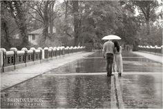 Engagement Shoot in the Rain, Rainy Day Photography, Piedmont Park, Atlanta Engagement Photographer
