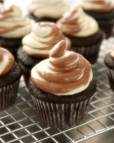 Easy One-Bowl Chocolate Cupcakes. This is Whitney's go-to chocolate cupcake recipe. It makes a whole bunch of mini cupcakes - about 100.