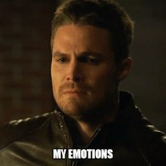 "Arrow reaction gifs - ""My emotions"" while watching arrow and flash"