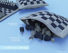 Soft Chess Board on Behance