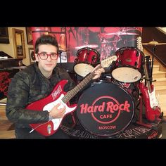 Hard rock cafe in Moscú Rusia #IlVolo #PieroBarone #IVMAM