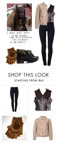 """""""Michonne - twd / the walking dead"""" by shadyannon ❤ liked on Polyvore featuring STELLA McCARTNEY, Emanuel Ungaro, Ralph Lauren and Topman"""