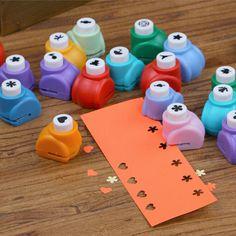 Pugno di carta del capretto del bambino mini stampa a mano shaper scrapbook tag carte fai da te taglierina in   Il modello può essere selezionato, ma il colore dell'articolo sarà trasmette a caso,  Grazie per la vostra comprenda Mestieri di carta su AliExpress.com | Gruppo Alibaba