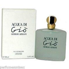 awesome ACQUA DI GIO by Armani 3.4 oz ( 100 ml ) EDT SPRAY Women NEW IN BOX SEALED Check more at http://shipperscentral.com/wp/product/acqua-di-gio-by-armani-3-4-oz-100-ml-edt-spray-women-new-in-box-sealed/