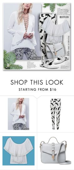 """""""Yoins"""" by sneky ❤ liked on Polyvore featuring Foley + Corinna, yoins, yoinscollection, loveyoins and ruffledtops"""